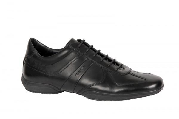 Geox City G Schuhe in schwarz Businessschuhe U2269G