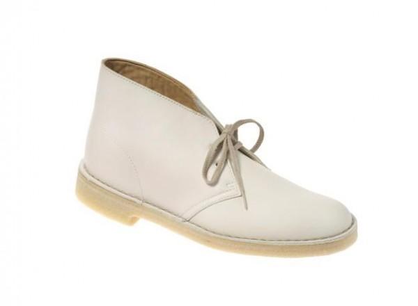 Clarks Desert Boots Schuhe in weiß 20324904