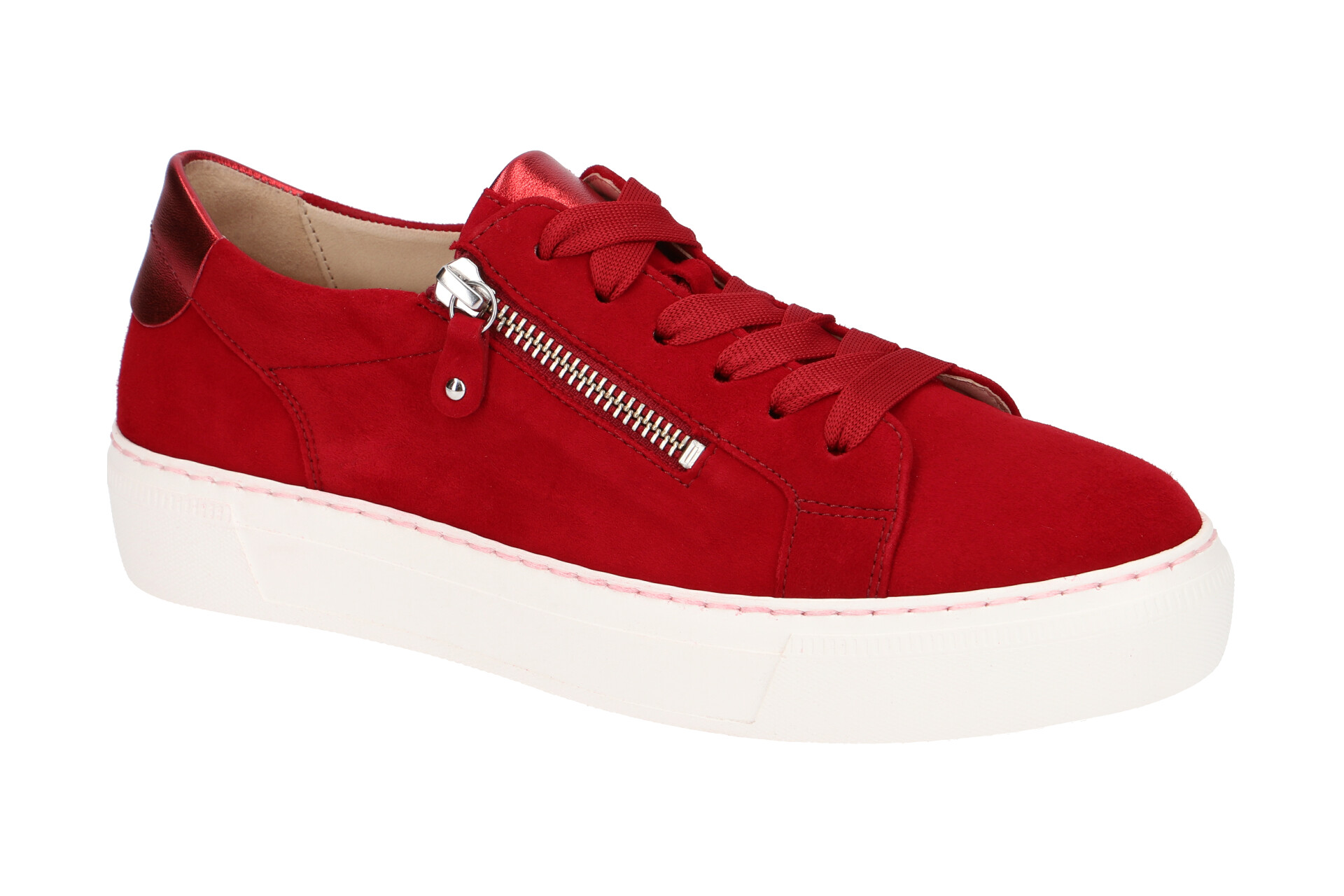 Gabor Schuhe rot Damen Sneakers 23.314.10