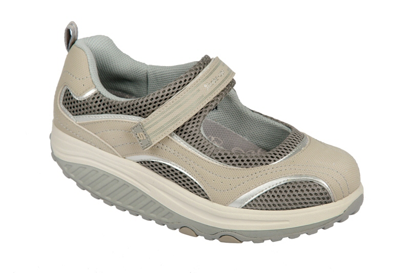 Skechers Shape ups Schuhe 11807STSL beige grau