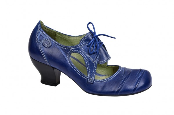 Tiggers Ginger 104 Schnür- Pumps in blau