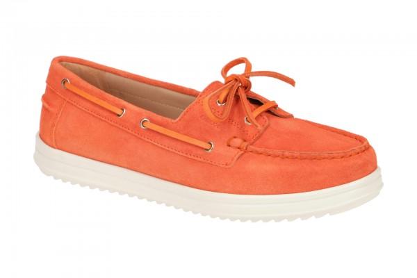Geox Genova Schuhe Mokassin orange D02HCA