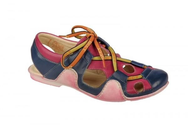 Eject Sayaka Sandaletten E-13431 blau pink