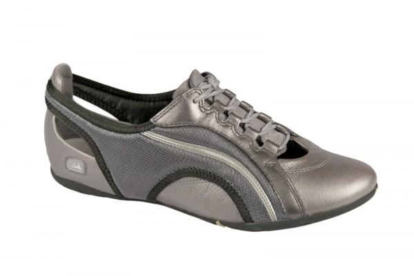 Clarks Idyllic Lace Schuhe in silber grau Sneaker