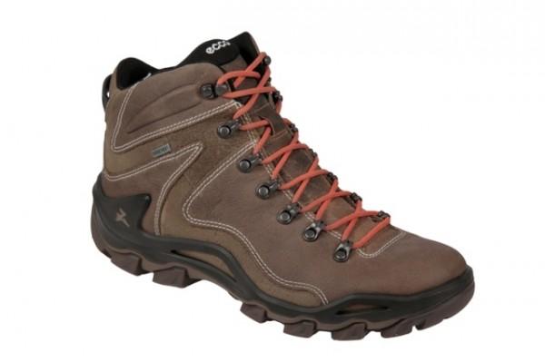 Ecco Terra VG in braun Yak-Leder Boots Gore-Tex
