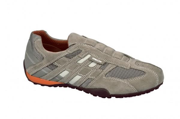 Geox Snake N Schuhe in beige orange Slipper U1107N