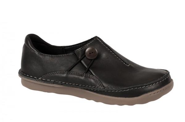 Clarks Faze Girl Schuhe in schwarz Slipper 20351536