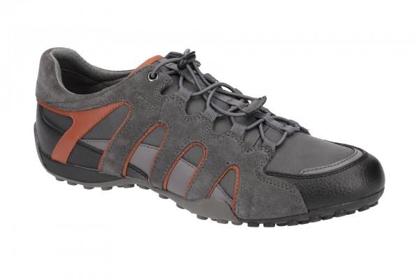 Geox Snake Schuhe grau orange U8407A