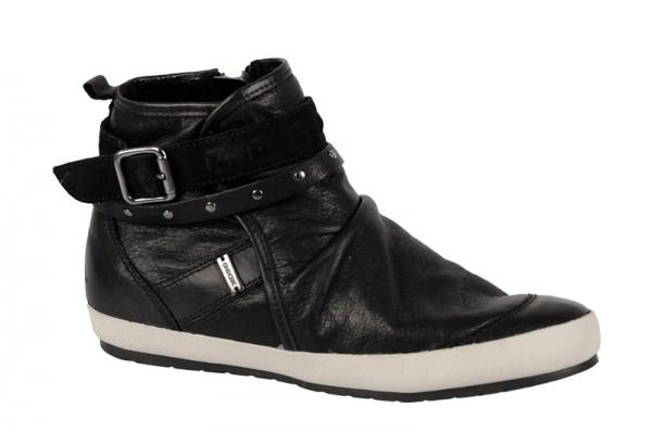 Geox Savannah Schuhe schwarz Stiefelette D24A2E