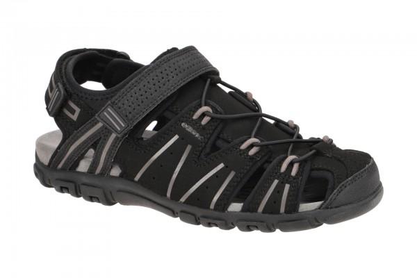 Geox Strada Outdoor Sandale schwarz U1524A