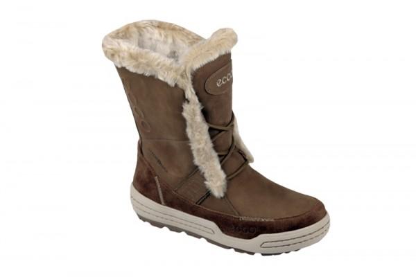Ecco Damen Winter Stiefel Siberia braun - 85252356792