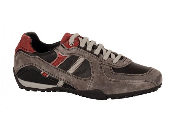 Geox Snake A Schuhe grau schwarz U2407A