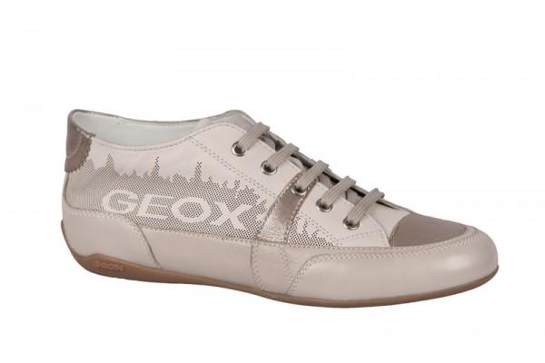 Geox Moena Schuhe beige weiß