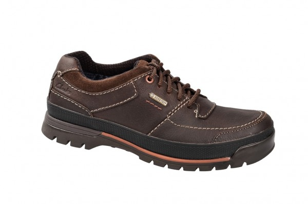 Clarks Narly Path GTX - Herrenschuhe - dunkelbraun - 20356542