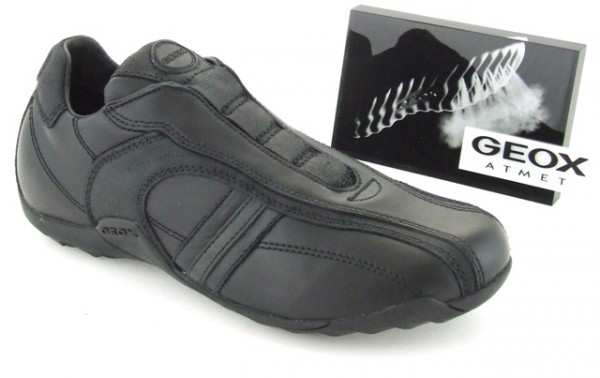 Geox Compass Slipper schwarz