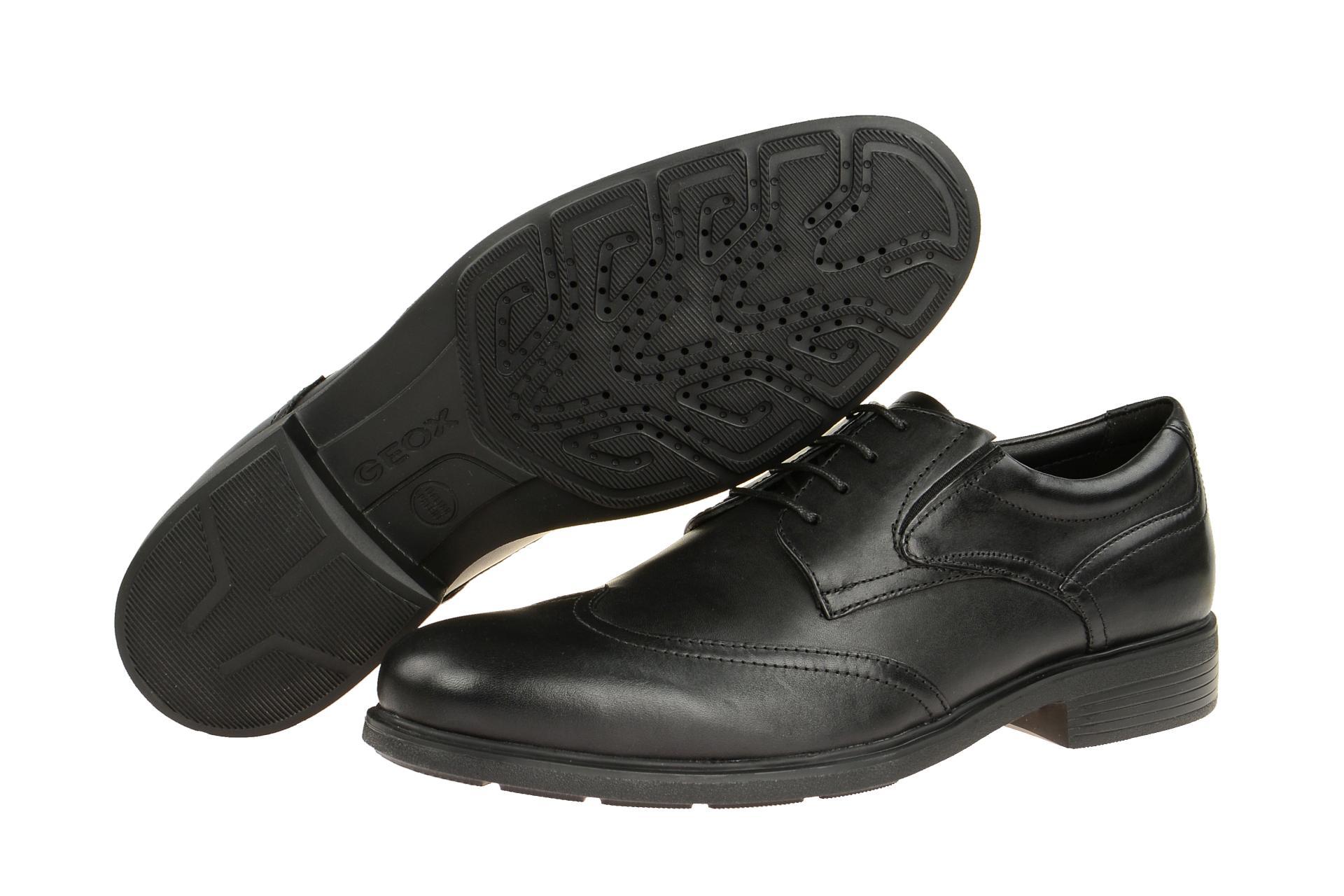 Details zu Geox Schuhe DUBLIN schwarz U72R2A 00043 C9999 NEU