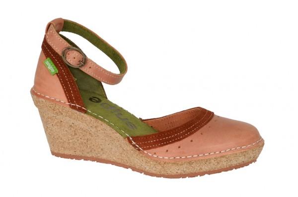 Snipe Segura 11 Keil Sandale brick rosa 449.111.02