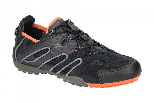 Geox Snake Schuhe blau orange U4207J