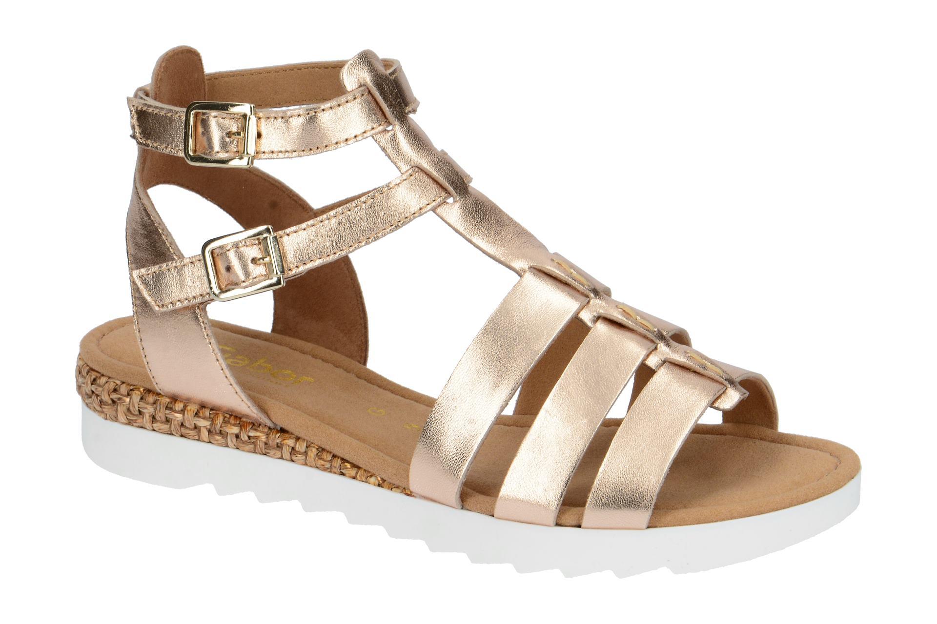 Gabor Rhodos Sandale beige space metallic