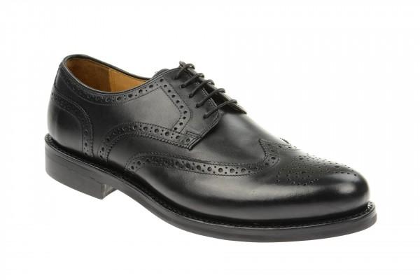 Gordon & Bros Schuhe schwarz Gummisohle Levet 2318-G