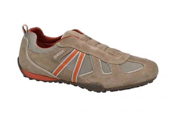 Geox Snake R Schuhe beige Slipper U3207R