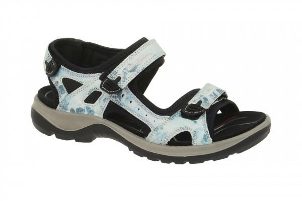 Ecco Offroad 06956301088 Sandale blau weiß