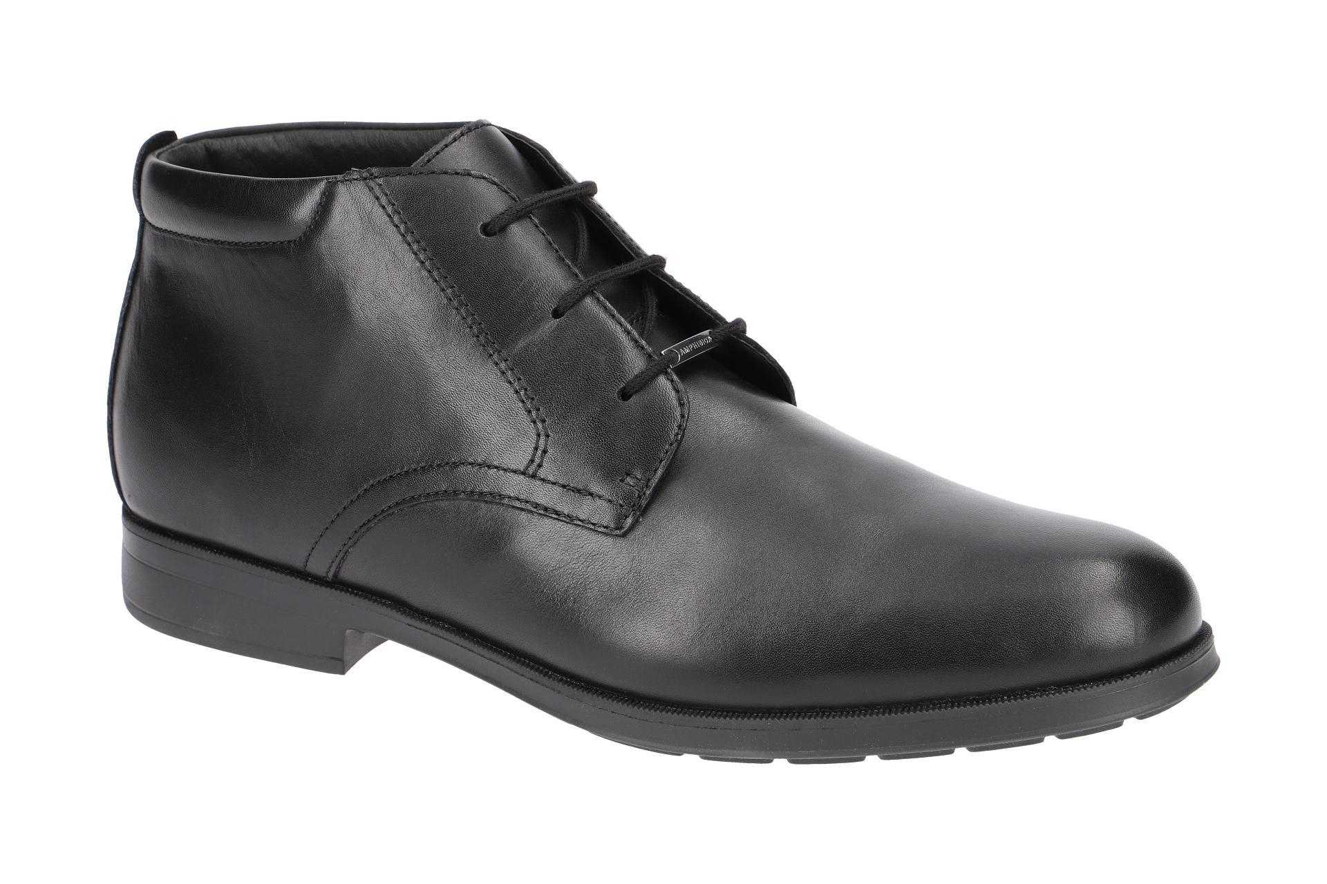 Details zu Geox Schuhe HILSTONE ABX schwarz Herrenstiefelette U845TB 00043 C9999 NEU