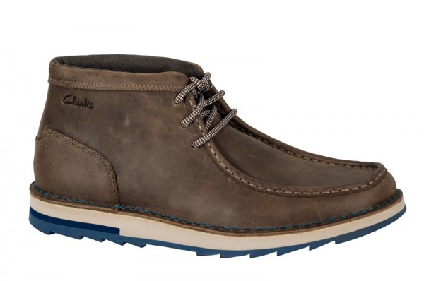 Clarks Mumford Flok Schuhe in tabacco dunkelbraun Boots