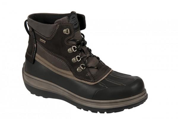 Ecco EC Roxton Boots schwarz braun Gore-Tex
