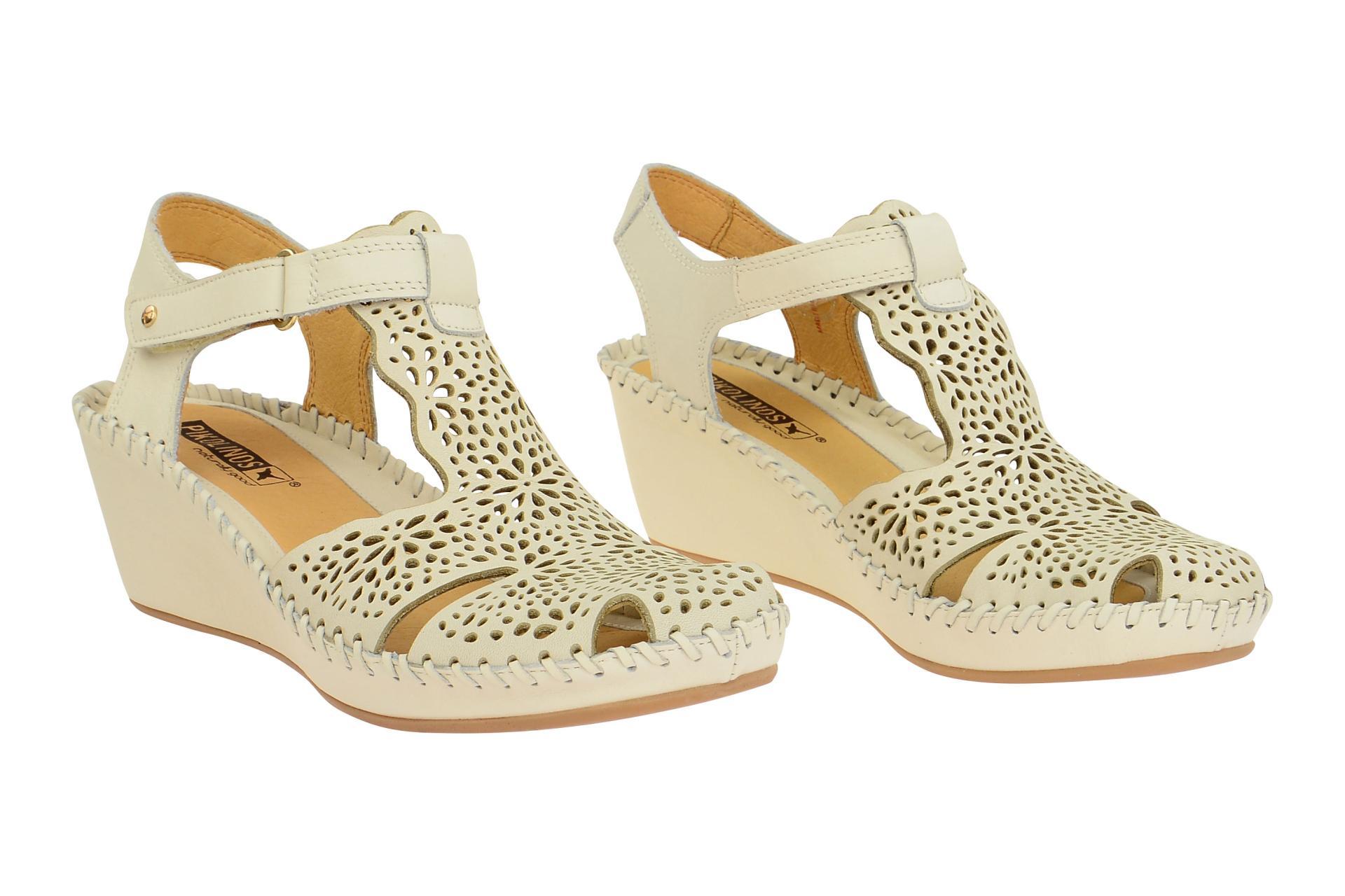 Pikolinos Schuhe MARGARITA rot Damen Sandale Sandaletten 943-0985 sandia NEU