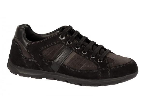 Geox Marshall Schuhe grau schwarz U24X1B