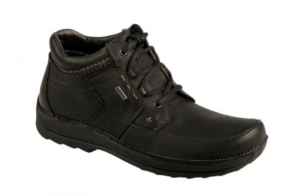 Clarks Storm Path GTX Schuhe in schwarz mit Gore-Tex