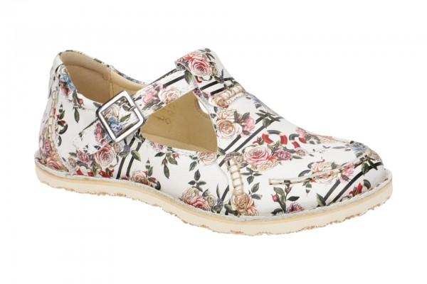 Eject Sony3Deal Schuhe weiß bunte Blumen 10077