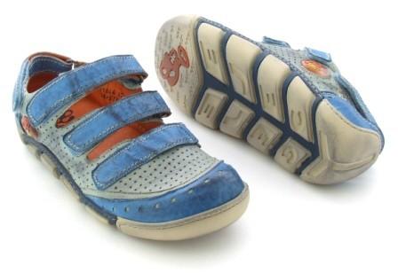 Eject Flight E-11044 Schuhe blau mix