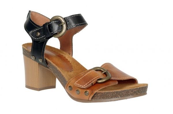 Pikolinos Praga Sandalette in braun schwarz - 871-9444