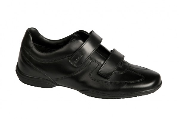 Geox City Business Schuhe in schwarz