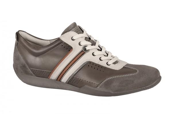 Ecco Summer Sneaker Schuhe grau weiß
