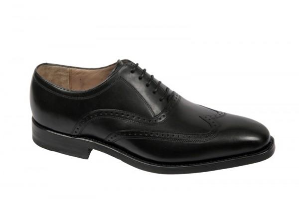 Gordon & Bros. 2321 schwarz rahmengenähte Schuhe