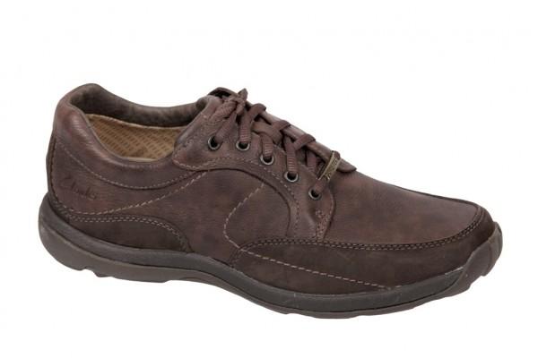 Clarks Spy Man GTX Gore-Tex Schuhe braun