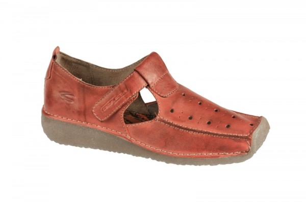 camel active Soho Schuhe - Slipper in rot