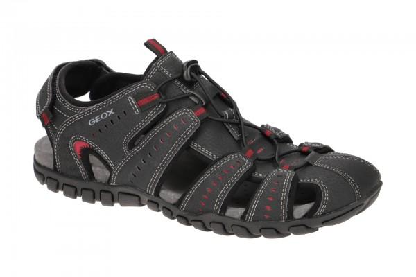 Geox Mito Outdoor Sandale schwarz U02Q2C