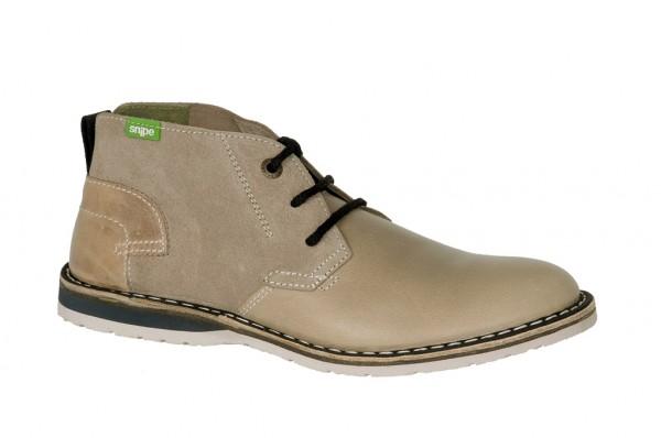 Snipe Duna grau Herren Ankle Boots