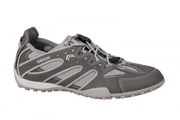 Geox Snake V Schuhe grau Sneakers