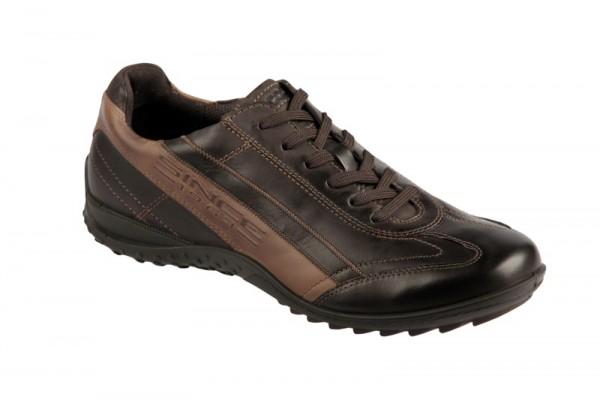Ecco Outrider Schuhe dunkelbraun Sneaker