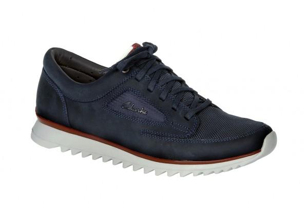Clarks Theron Nature Schuhe in navy dunkelblau