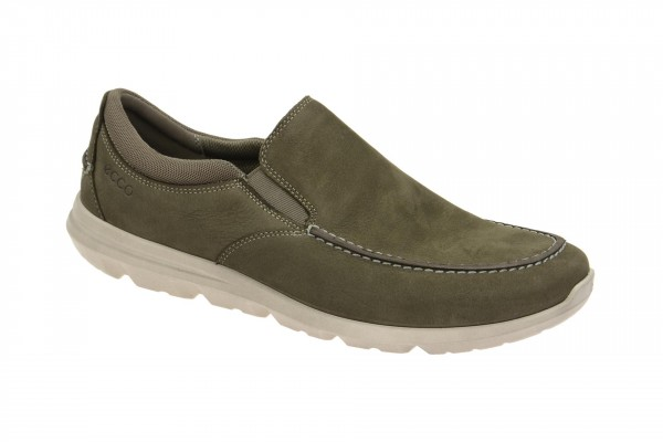 Ecco Slippers Calgary grün grau