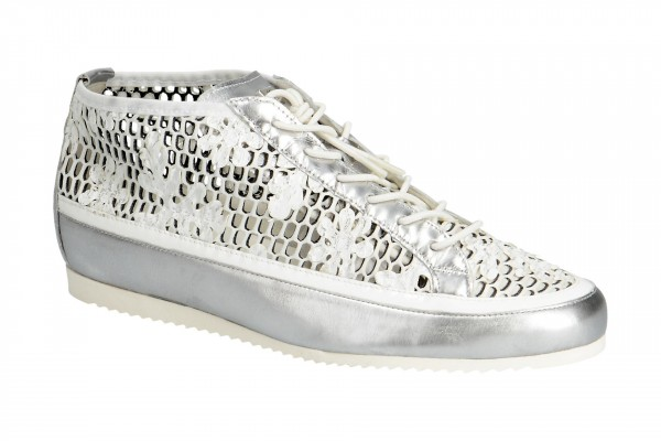 Högl Schuhe Sneakers weiß silber 2318 7600