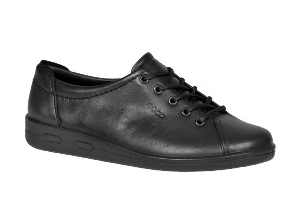 Ecco Soft 2 Schuhe schwarz 00947300101