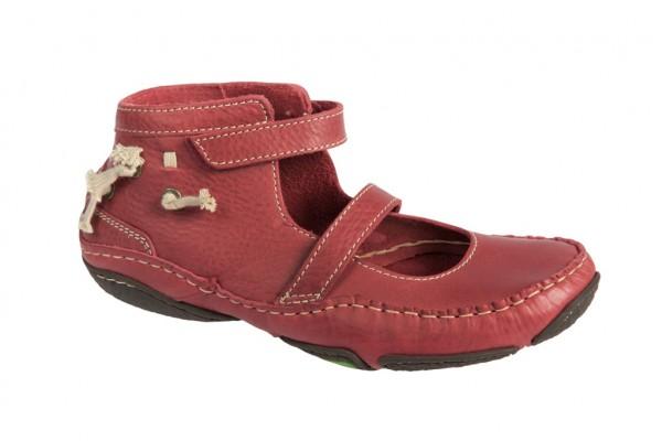 Snipe Moncada 13 Schuhe rot Damen Mokassin