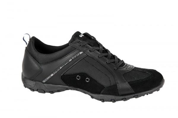 Geox Freccia Schuhe schwarz Damen Sportschuhe